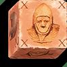 Cara de dado Caballeros de Piedra